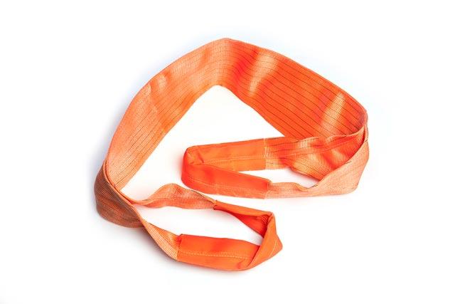 Dây cáp vải bản dẹt 16 tấn dài 8M (Webbing sling Eye to Eye)
