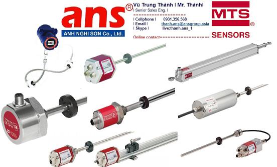 Cảm biến vị trí Temposonics® MTS Sensor Vietnam