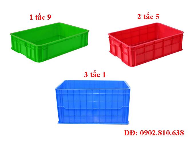Khay nhựa đặc cao 2 tấc, 3 tấc giá rẻ