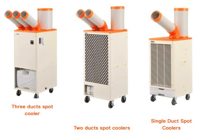 Spot cooler, máy làm mát điểm, Suiden Spot cooler| SS-22DD| SS-40DC| SS-56EC
