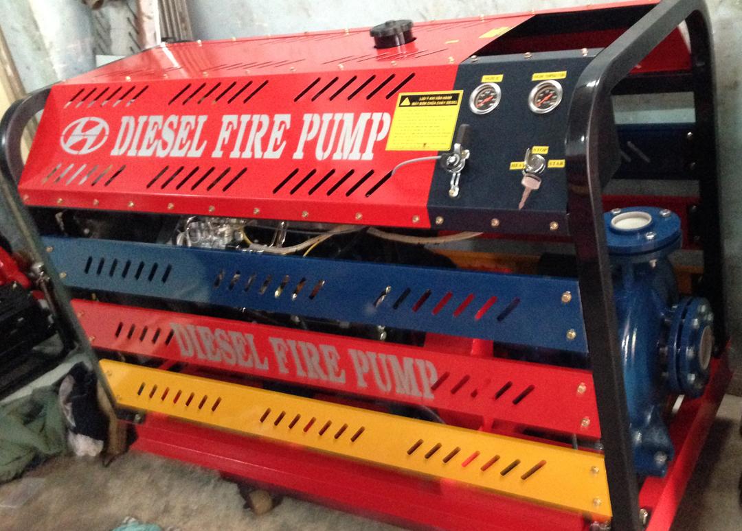 MáMáy bơm chữa cháy Diesel 50hp, Q=54-156m3/h, H=89.5- 54m