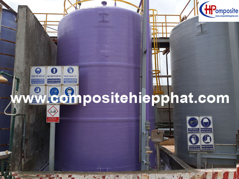 Bồn chứa hóa chất Hcl