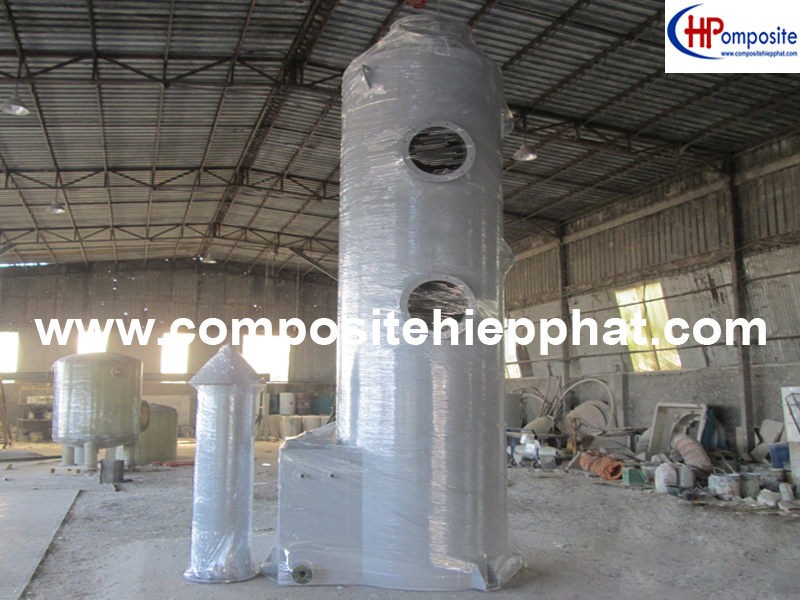 Tháp xử lý khí, tháp giải nhiệt