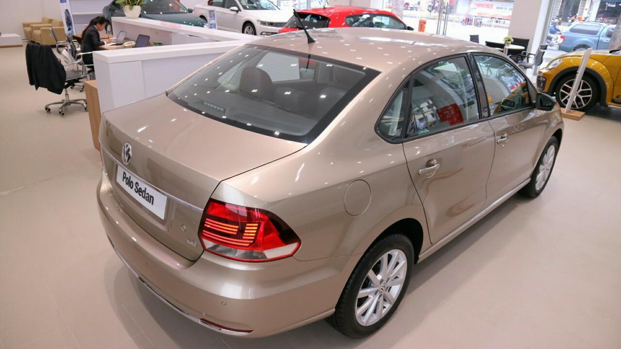 xe Volkswagen Polo sedan 2018 chính hãng – Hotline: 0909 717 983