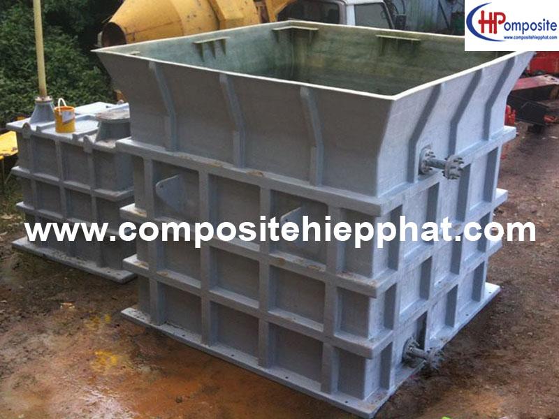 Bồn nhựa FRP chứa nước sạch