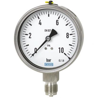 Đồng Hồ Wika 232.50.63 Bottom Pressure Gauge