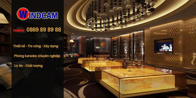 thiết kế thi công phòng karaoke tại Việt Nam