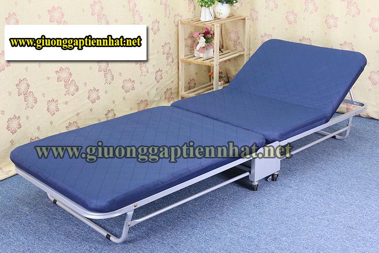 Giường gấp có nệm kiểu Hàn Quốc HQ02B