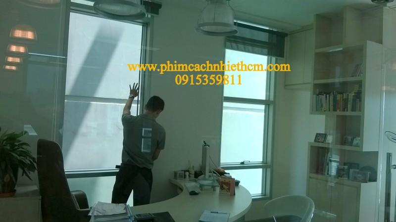 Phim chống nóng nhà kính, văn phòng