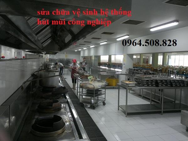 Sửa máy hút mùi bếp công nghiệp