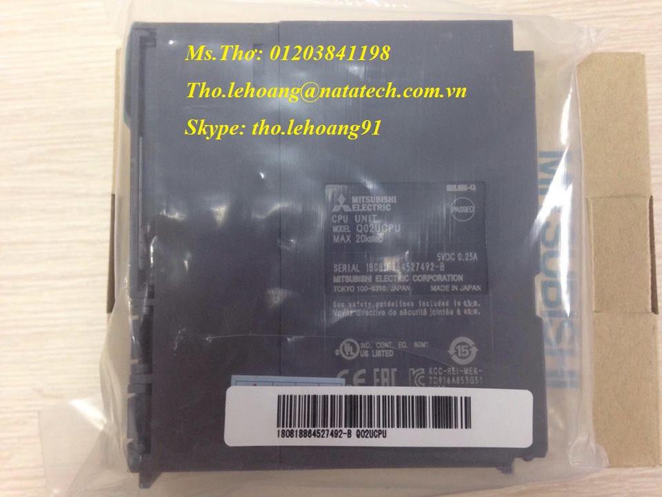 PLC Q Mitsubishi Q02HCPU giá tốt - Công Ty TNHH Natatech