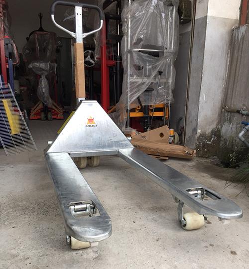 Xe nâng tay mạ kẽm 2.5 tấn chống gỉ sét