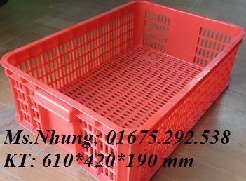 Sóng nhựa, thùng nhựa đặc, sọt nhựa LH 01675 292 538