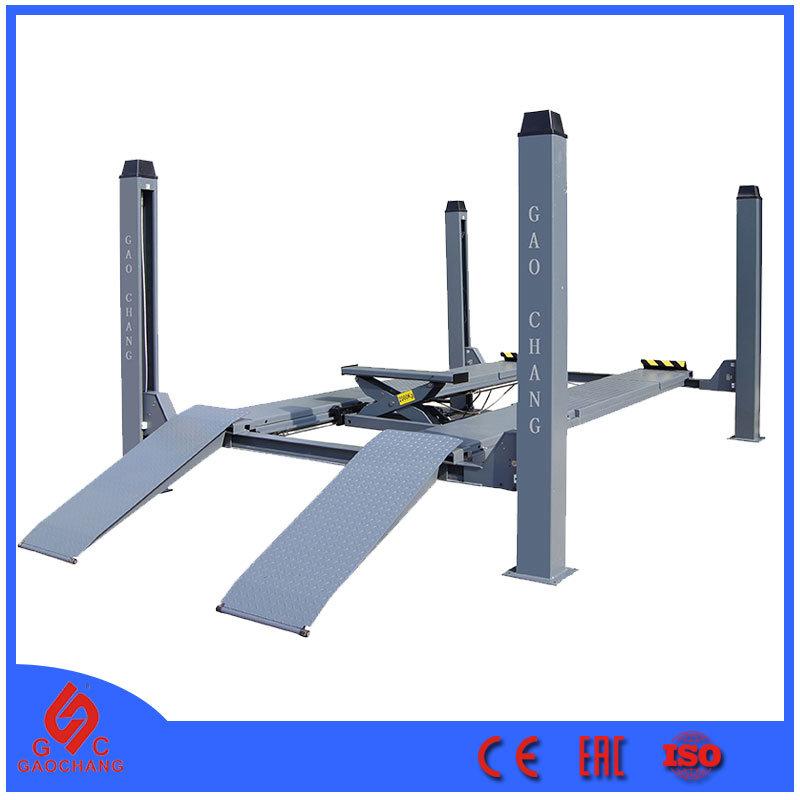 Cầu nâng 4 trụ 10 tấn Gaochang GC-10.0F4 tại KingTech