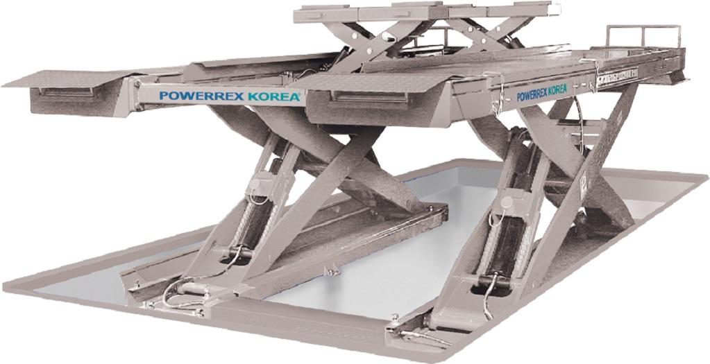 Cầu nâng cắt kéo 6 tấn Powerrex SL-6600X