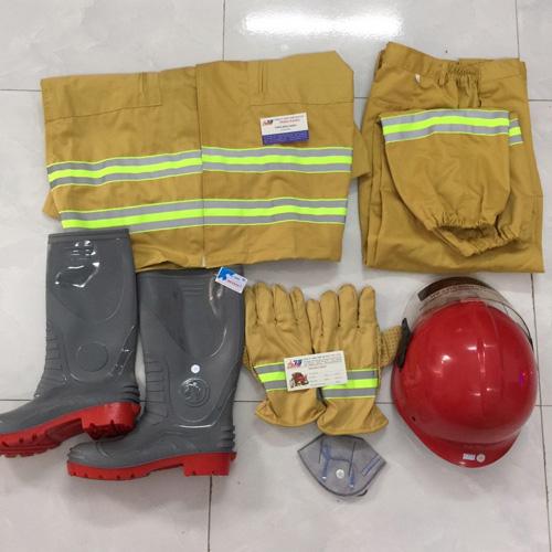 Bộ Quần áo chữa cháy 5 món, theo thông tư 48/BCA, Việt Nam
