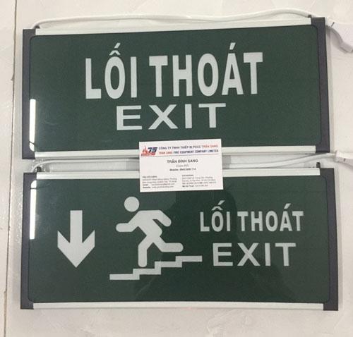 Đèn Exit lối thoát 1 mặt HW-128LED- China