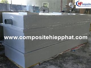 Bồn composite tách mỡ