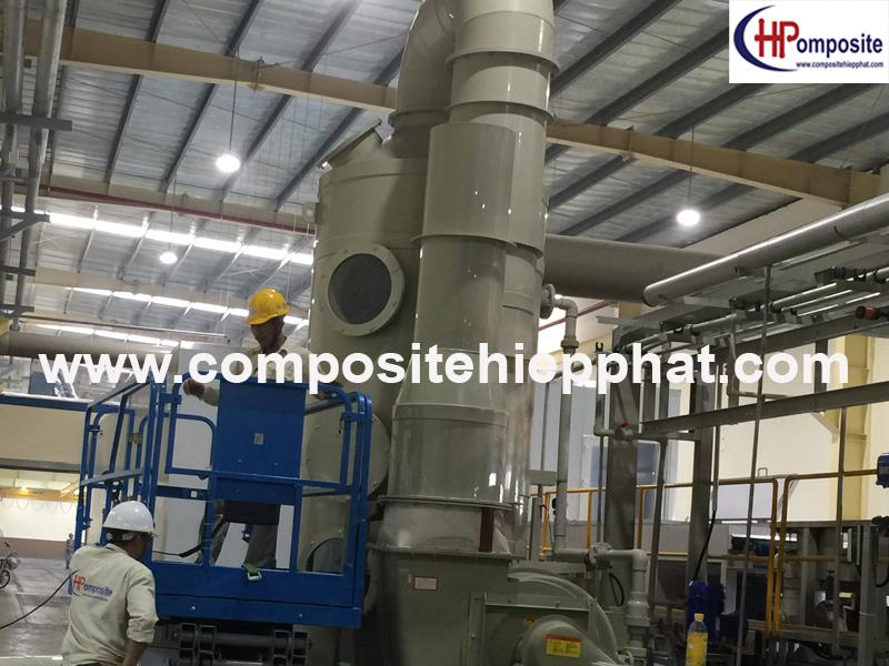 Cung cấp tháp PP xử lý khí