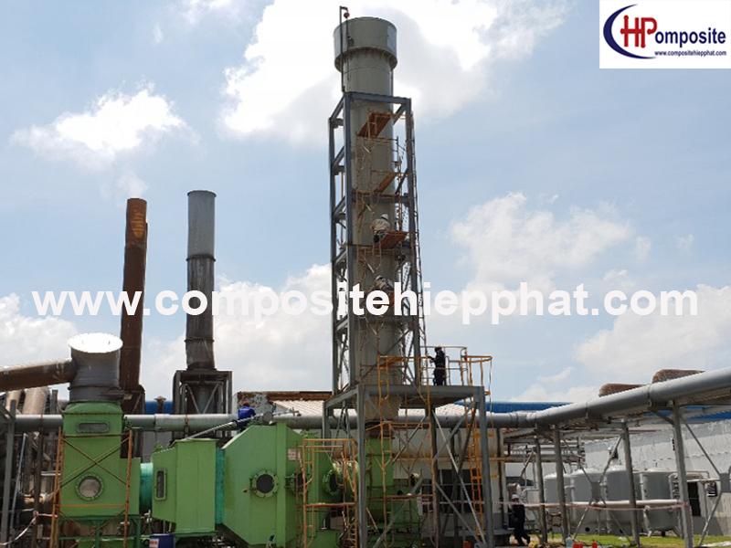 Tháp nhựa PP xử lý khí thải công nghiệp
