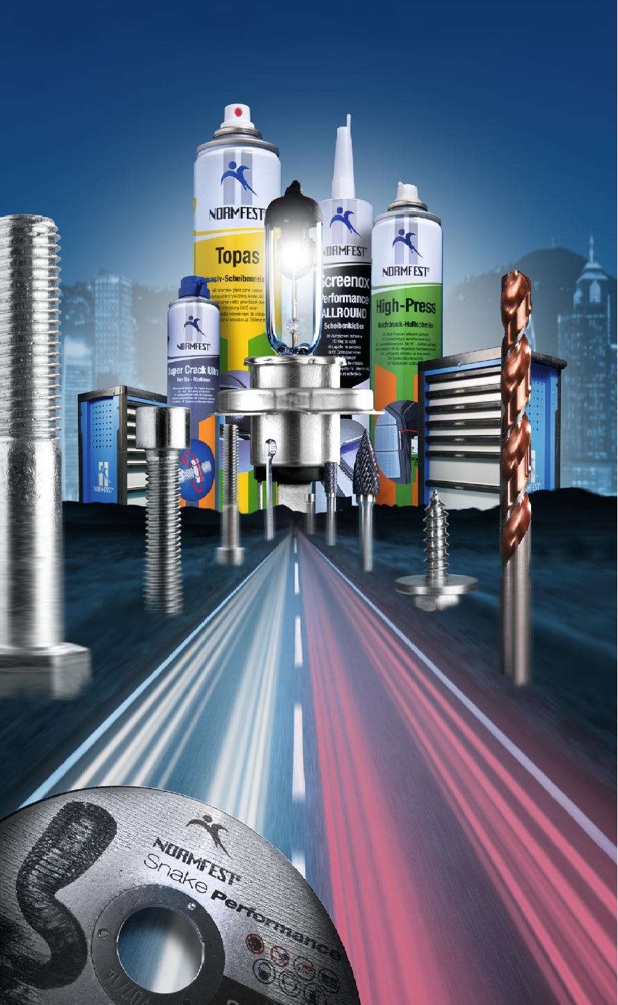 Tìm đại lý phân phối sản phẩm chăm sóc ôtô Normfest - Đức