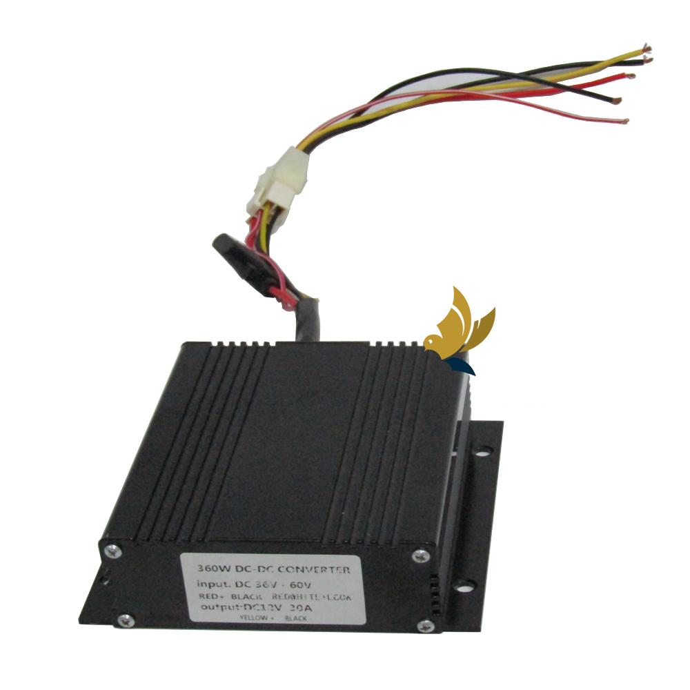 Chuyển đổi điện 36-48V ra 12V 30amp
