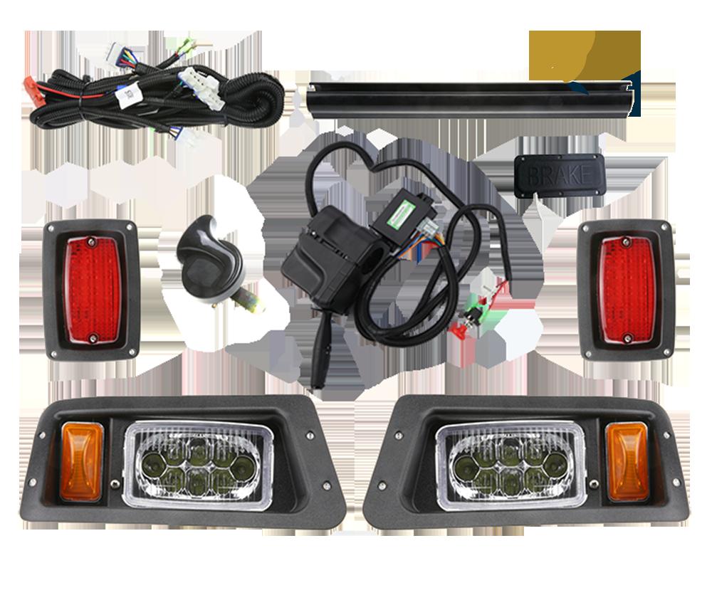 Cụm đèn còi xi nhan Club Car led