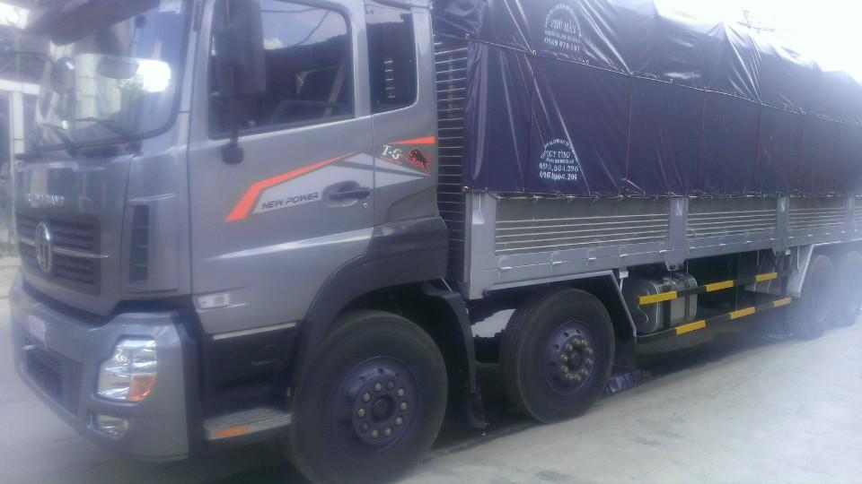 xe tải 4 chân dongfeng trường giang