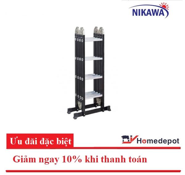 Thang gấp đa năng 4 đoạn Nikawa NKG-44