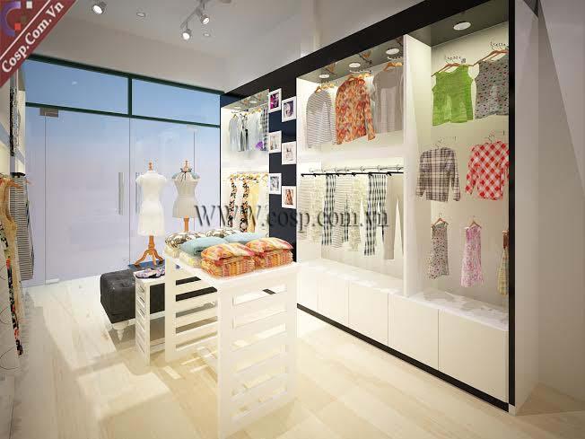 Thiết kế shop thời trang anh Định