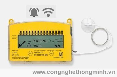 Fridge tag 3: Thiết bị ghi nhiệt độ dùng trong y tế