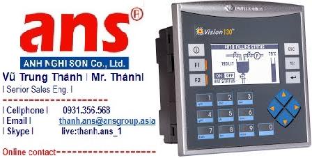 Unitronics Vietnam  Bộ điều khiển logic có thể lập trình được Vision130™