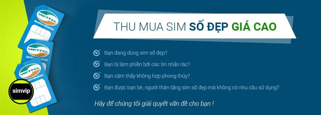 Dịch vụ thu mua sim số đẹp giá cao tại Simso.vip