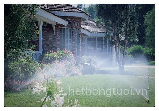 Hệ thống phun sương tưới lan,vòi phun sương tưới cỏ, hệ thống tưới phun sương cho rau