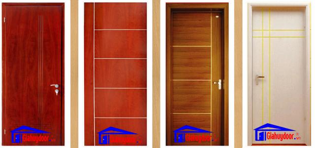 Cửa gỗ HDF Veneer là dòng cửa gỗ công nghiệp được sử dụng phổ biến - Giahuydoor