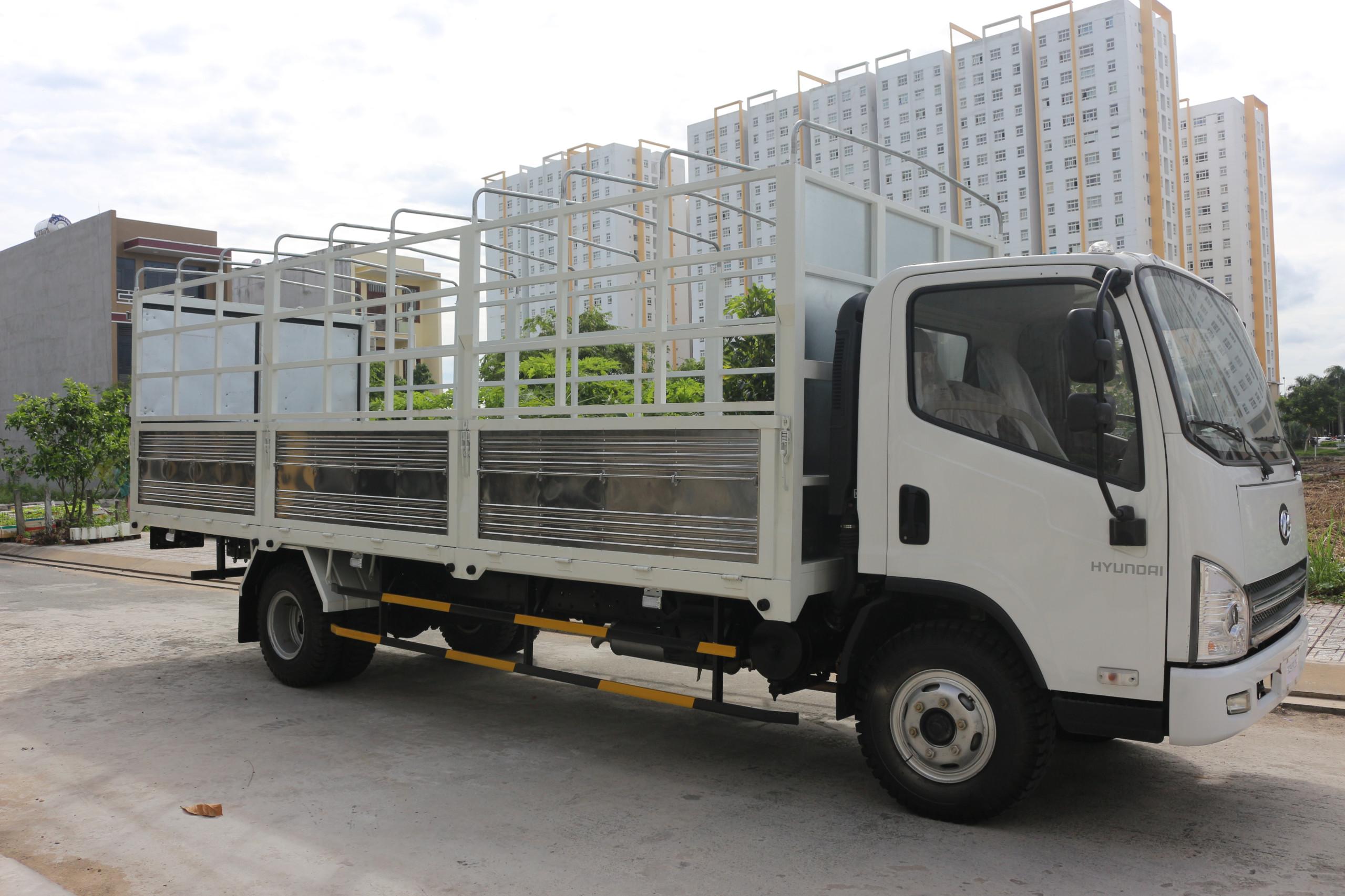 đại lí bán xe tài hyundai 8 tấn thùng dài 6m