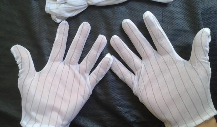 Găng tay sợi Carbon phủ PU ngón Hà Nội