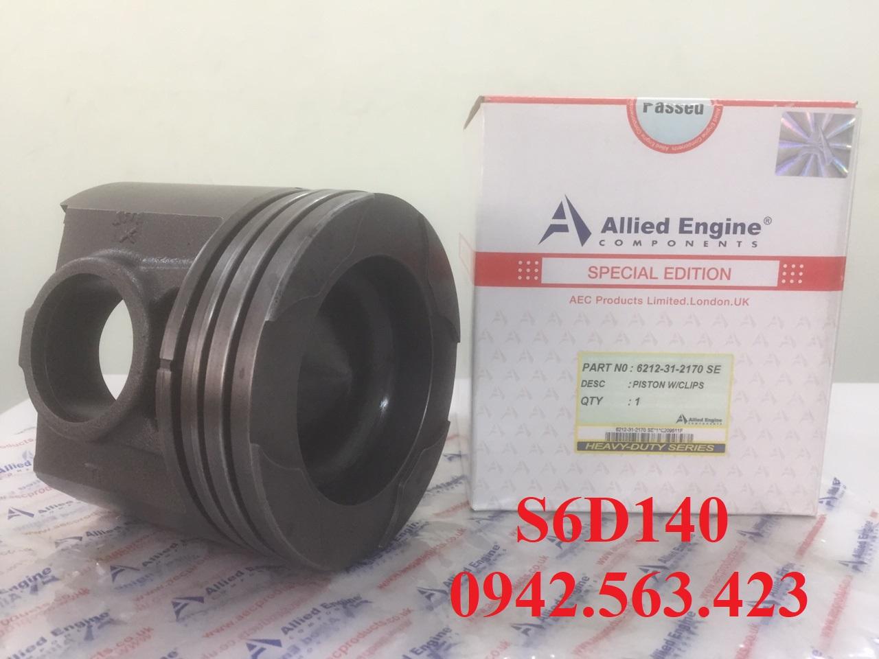 Bán bộ hơi S6D140-1 lắp cho PC650-3, PC750-5