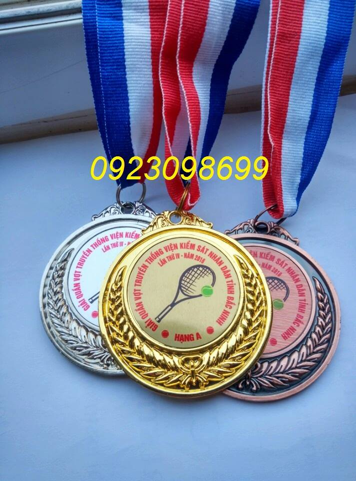 Bán huy chương thể thao, sản xuất huy chương quà tặng, đúc huy chương giải thưởng