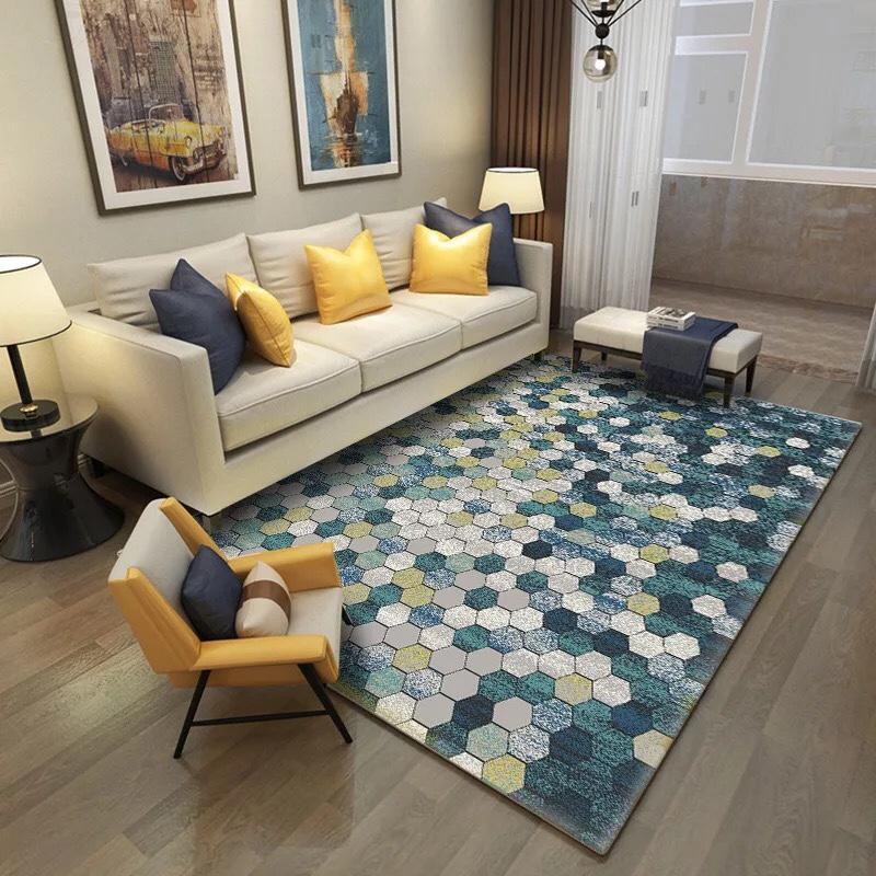 Thảm phòng khách lông ngắn cao cấp