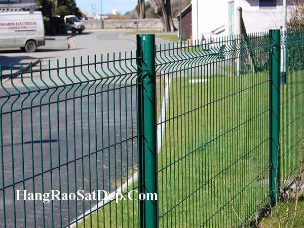 Thi công hàng rào lưới thép - Báo giá hàng rào lưới thép