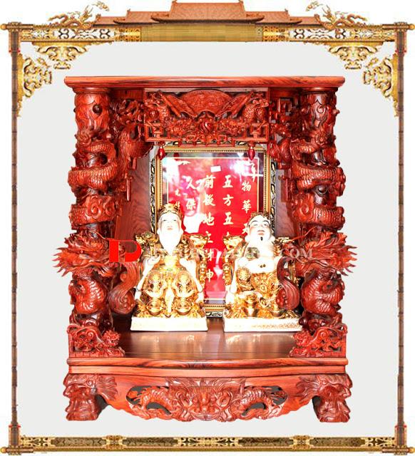 Cách sắp đặt bàn thờ Thần Tài đúng chuẩn phong thủy nhất