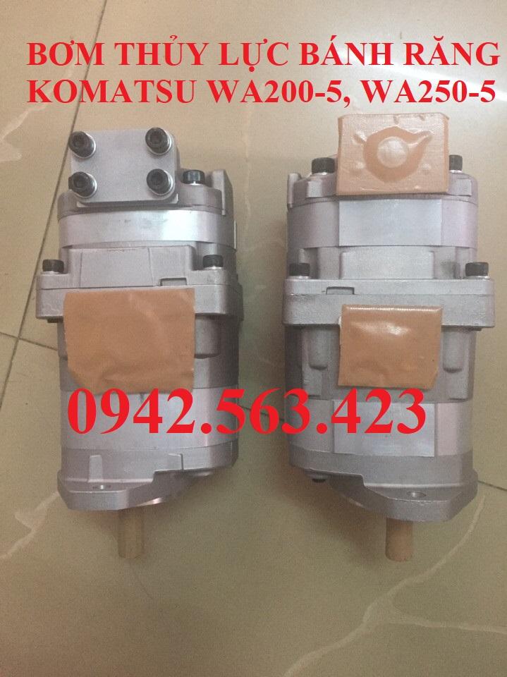 Bơm thủy lực bánh răng Komatsu WA200-3