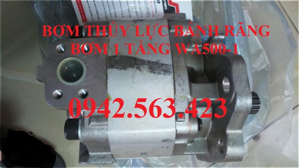Bơm thủy lực bánh răng Komatsu WA500-1