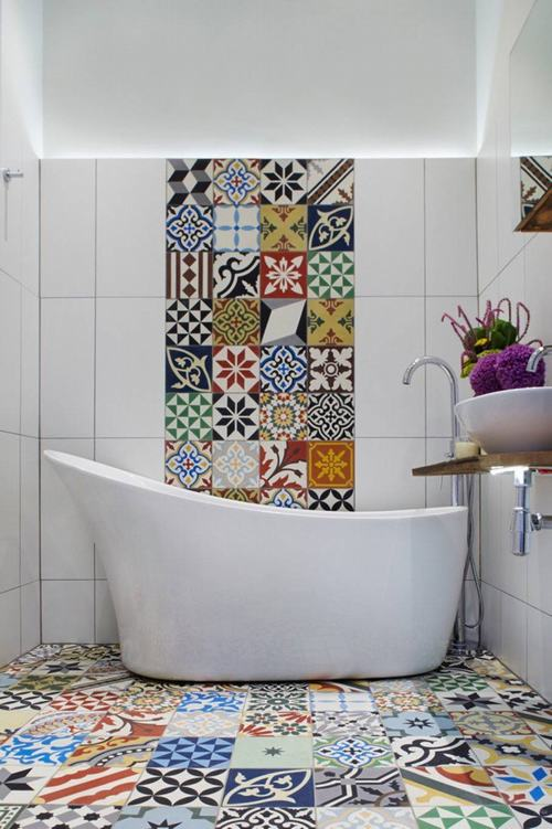 Một số mẫu thiết kế với gạch bông ấn tượng, đặc sắc