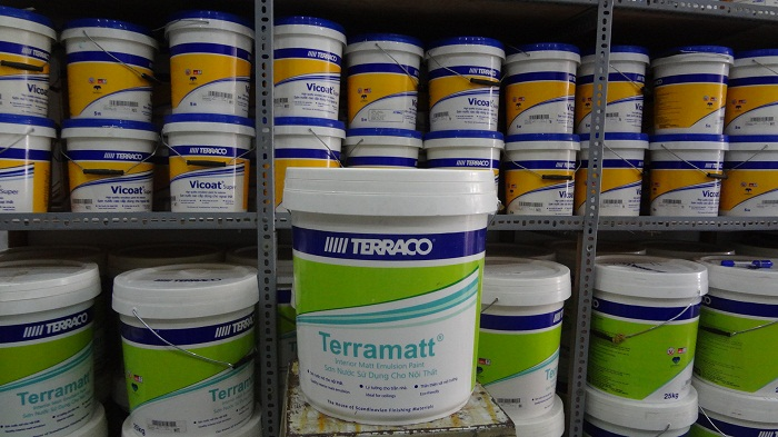 Buôn sỉ và lẻ sơn nước terraco chính hãng, giá rẻ