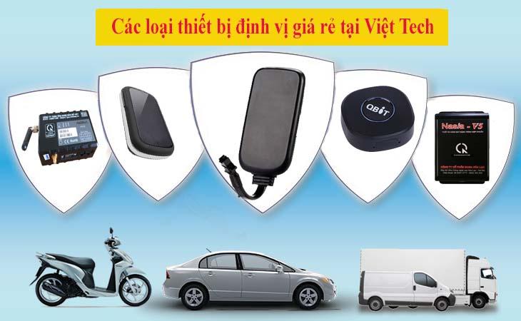 Thiết bị định vị ô tô giá rẻ tại Việt Tech GPS