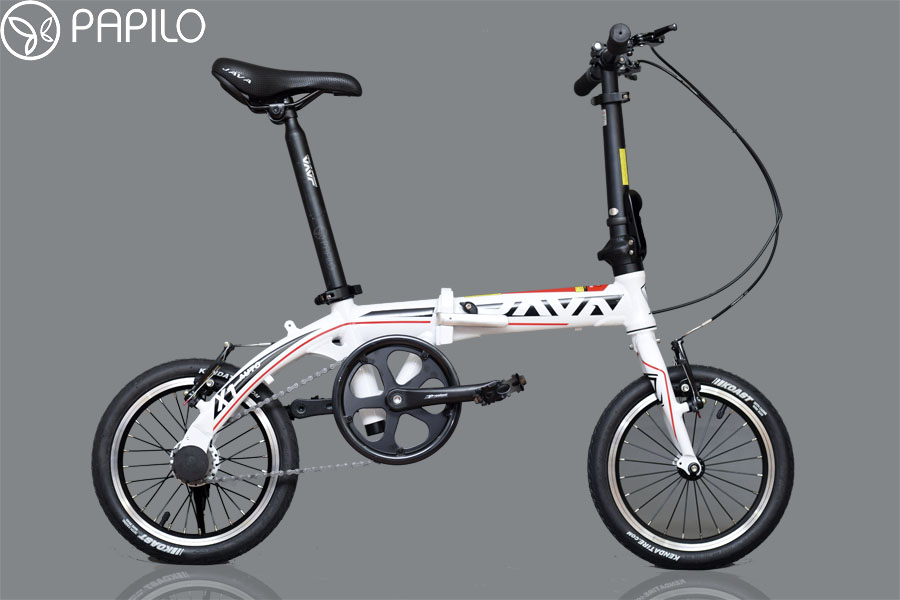 """Siêu phẩm """"Xe đạp gấp java x1 auto"""" dành cho dân mê thể thao"""