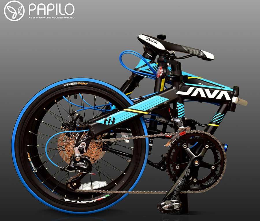 Siêu phẩm xe đạp thể thao gấp gọn java Fit 18 cho dân mê xe đạp