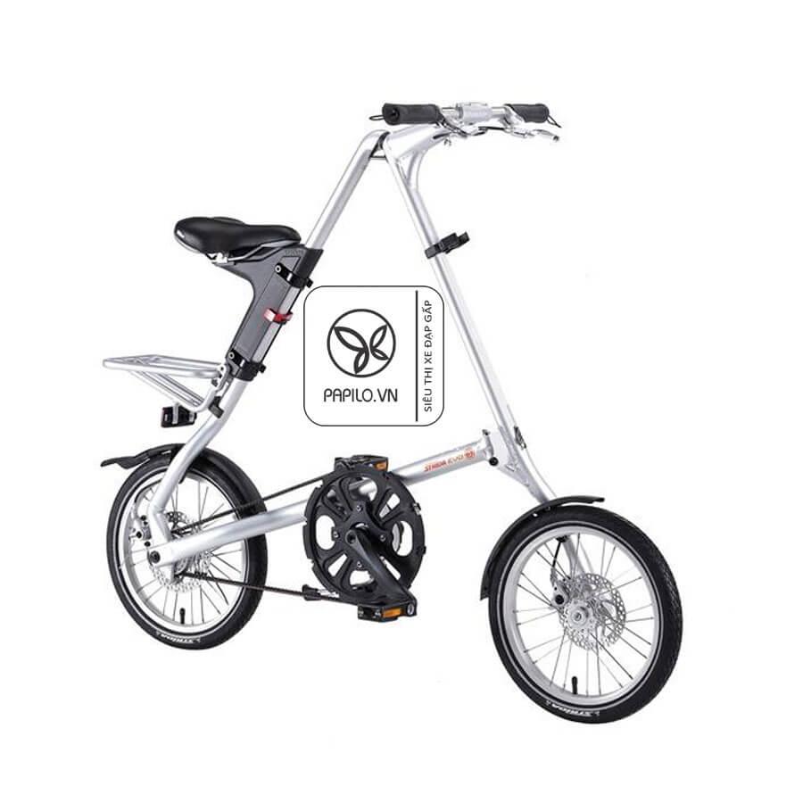Xe đạp bánh nhỏ Strida EVO 18 chẳng khác gì iphone X